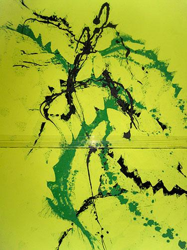 Pigment auf Leinwand, 160x100, 2teilig