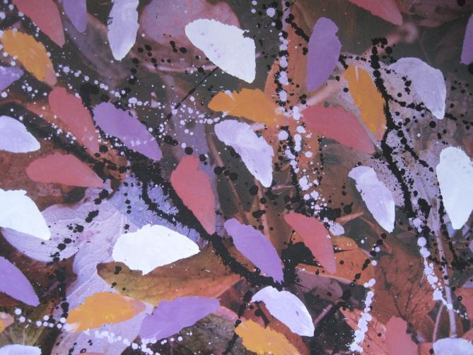 P.21 Pigment auf Photo 52x70 cm